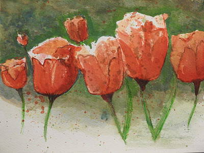 Painting - A Group Of Seven by Betty-Anne McDonald