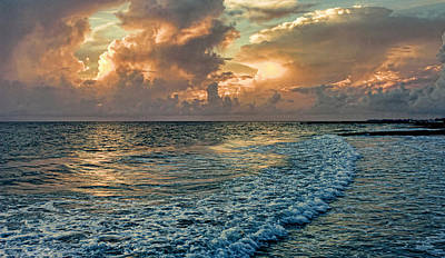 Photograph - A Gulf Coast Seascape by HH Photography of Florida