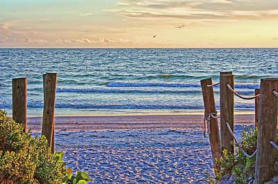 Photograph - A Gulf Welcome by HH Photography of Florida