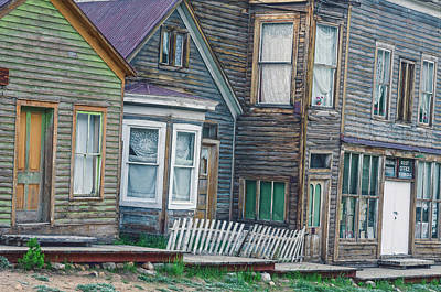 A Haimish Abode From A Bygone Era Art Print
