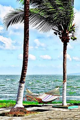 Photograph - A Hammock On The Lakeshore by Kirsten Giving