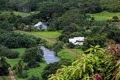 Photograph - A Hanalei View by Bonnie Follett