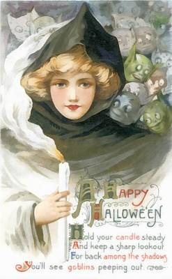 Photograph - A Happy Halloween by Unknown