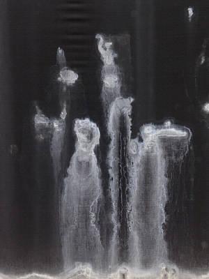 A Hard Water's Gonna Spray #2 Art Print by Stan  Magnan