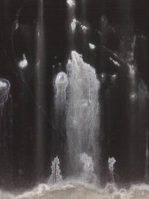 A Hard Water's Gonna Spray #3 Art Print by Stan  Magnan