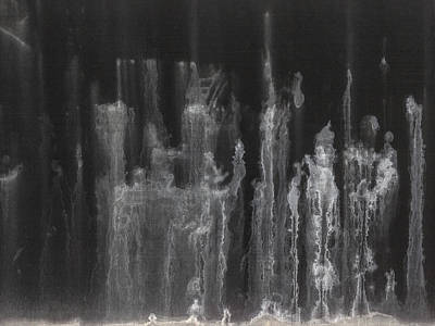 Photograph - A Hard Water's Gonna Spray #5 by Stan  Magnan