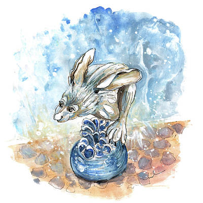 Painting - A Hare In Kilburn by Miki De Goodaboom