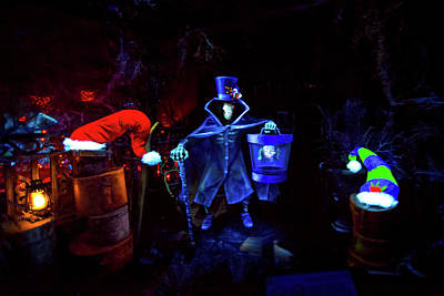 Haunted Mansion Photograph - A Haunted Mansion Nightmare by Mark Andrew Thomas