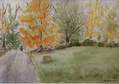 Painting - A Hay Oddity by Rachel Barlow