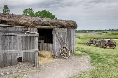 Photograph - A Hayroof Barn by Susan Rissi Tregoning