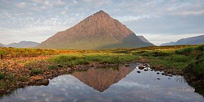 Photograph - A Hazy Morning On The River Etive by Stephen Taylor