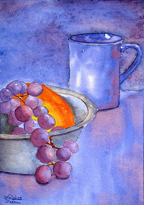Painting - A Healthy Breakfast. by Rich Stedman
