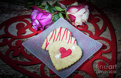 Photograph - A Heart Filled Treat by Deborah Klubertanz