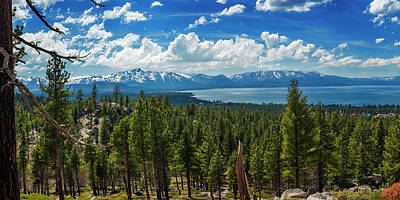 Photograph - A Heavenly View By Brad Scott 48x24 by Brad Scott