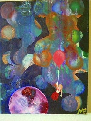 A Helium Baloon Original by Michael Paul