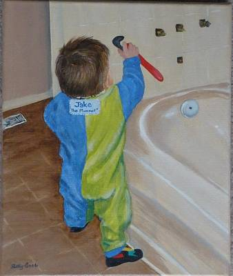 Painting - A Helping Hand by Betty-Anne McDonald
