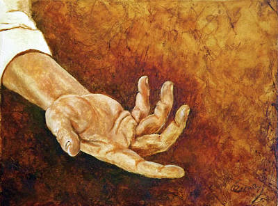Painting - A Helping Hand by Carl Owen