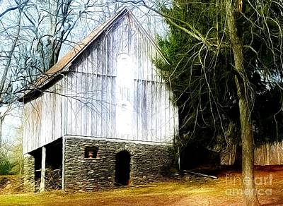 Photograph - A Hidden Barn In West Chester, Pa by Polly Peacock