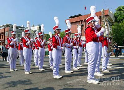 Photograph - A High School Marching Band by Yali Shi