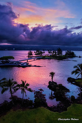 Photograph - A Hilo View by Christopher Holmes