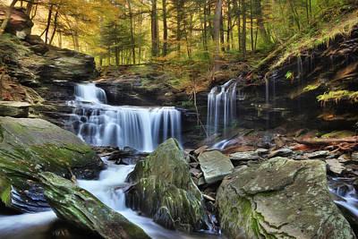 Digital Art - A Hint Of Autumn by Lori Deiter