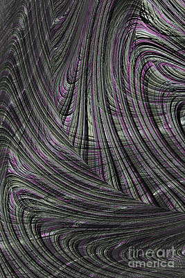 Digital Art - A Hint Of Purple by Steve Purnell