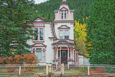 A Historical Treasure Constructed In 1870, Maxwell House, Georgetown, Colorado  Art Print