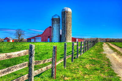 Farm Scenes Photograph - A Hole In The Fence Tennessee Farm Art by Reid Callaway
