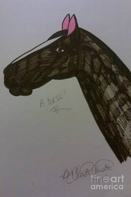 A Horse Art Print