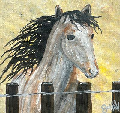 Painting - A Horse Named Freedom by JoNeL Art
