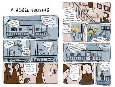 A House Blessing Original by Laura Wilson