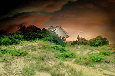 House On The Hill Photograph - A House Is Not A Home by Diana Angstadt