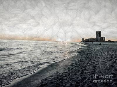 Photograph - A Hush At Twilight On The Gulf by Luther Fine Art