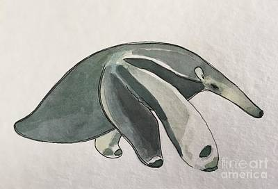 Painting - A Is For Anteater by Tonya Henderson