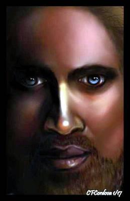 Jesus Digital Art - A Jesus For Everyone by Carmen Cordova