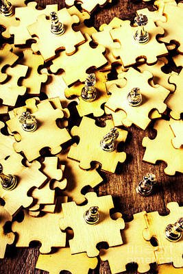 Photograph - A Jigsaw In Conquest by Jorgo Photography - Wall Art Gallery