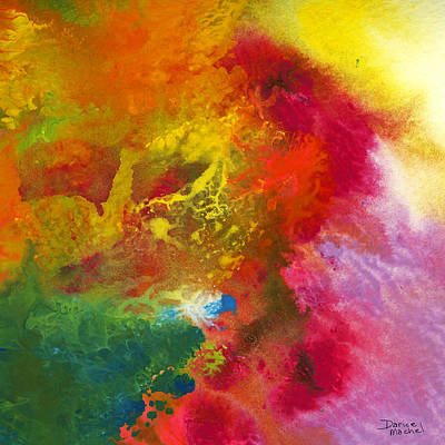Painting - A Journey Through Color by Darice Machel McGuire
