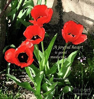 Painting - A Joyful Heart by Hazel Holland