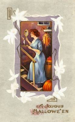 Photograph - A Joyous Halloween by Unknown