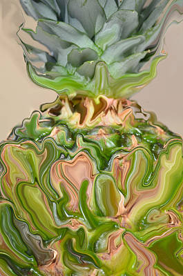 A Juiced Pineapple.. Art Print