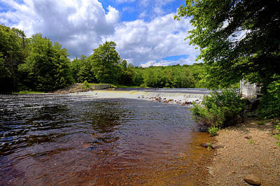 Photograph - A June Day At The Lock And Dam by David Patterson