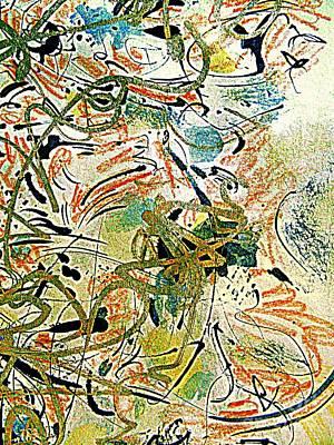 Painting - A Kandinsky Spring by Nancy Kane Chapman