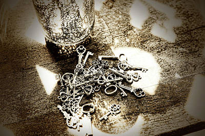 Photograph - A Key In A Keystack by Sharon Popek