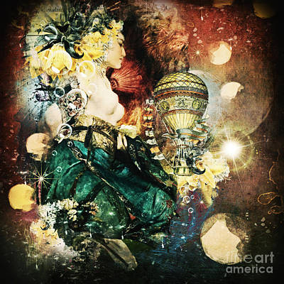 Acceptance Digital Art - A Kiss From Heaven  by Monique Hierck