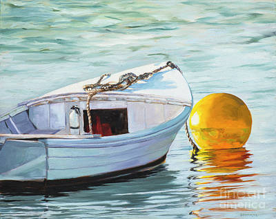 Painting - A Kiss In The Harbor by Lynne Schulte