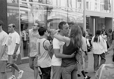 Photograph - A Kiss Is Just A Kiss by Dave Beckerman