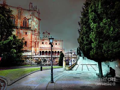 Photograph - A La Escuela De Economistas De Salamanca by Alfonso Garcia
