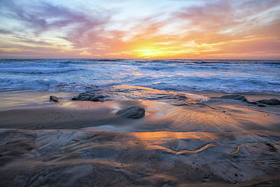 Photograph - A La Jolla Sunset #1 by Joseph S Giacalone
