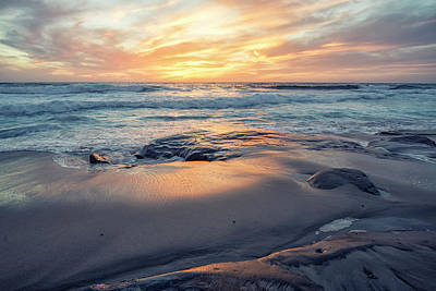 Photograph - A La Jolla Sunset #3 by Joseph S Giacalone