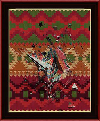 Digital Art - A La Kandinsky C1922 by Clive Littin